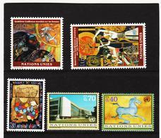 SRO433 UNO GENF 1995  MICHL 271/72 + 285/87 ** Postfrisch Siehe ABBILBUNG - Genf - Büro Der Vereinten Nationen