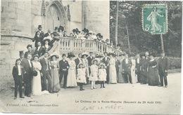 60 - Coye La Foret  : Le Chateau De La Reine Blanche  (29 Aout 1910 ) . - Frankrijk