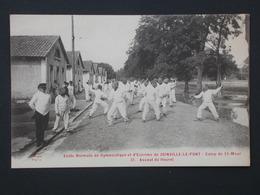 Ref5779 CPA Animée Joinville Le Port - Camp St Maur Assaut Fleuret Ecole Normale De Gymnastique Et D'Escrime 1917 - Escrime