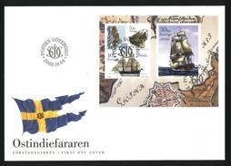 Sweden. FDC Cachet 2003. Swedish East India Ship. Engraver Martin Morck - FDC