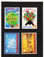 SRO434 UNO GENF 1996/97  MICHL 299/00 + 303/04 ** Postfrisch Siehe ABBILBUNG - Genf - Büro Der Vereinten Nationen