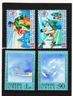 SRO436 UNO GENF 1998  MICHL 348/51 ** Postfrisch Siehe ABBILBUNG - Genf - Büro Der Vereinten Nationen
