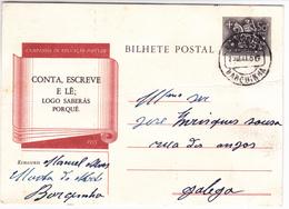 Portugal 5  Bilhetes Postais Com Carimbos Diferentes - Marcofilia