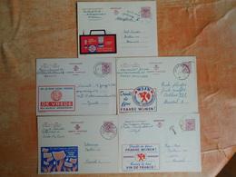 Lot De 5 Entiers Postaux Publibel   (U7) - Publibels
