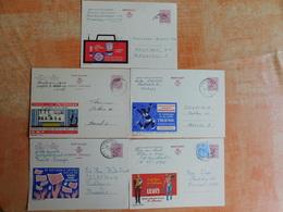 Lot De 5 Entiers Postaux Publibel   (U7) - Stamped Stationery