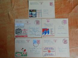 Lot De 5 Entiers Postaux Publibel   (U7) - Entiers Postaux
