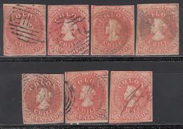1856-66  Yvert Nº 5 - Chile