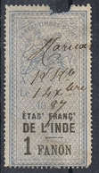 INDE TIMBRE FISCAL - Used Stamps