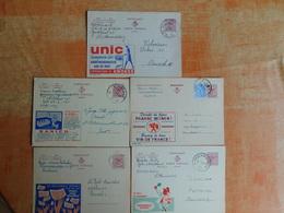 Lot De 5 Entiers Postaux Publibel   (S7) - Postwaardestukken