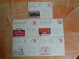 Lot De 5 Entiers Postaux Publibel   (S7) - Stamped Stationery
