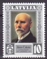 Lettland, 1998, 489, Staatspräsidenten:  Ja¯nis Cakste. MNH ** - Letonia