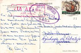 Portugal -Moçambique 1 Postal 3 Aerogramas +4envelopes - Postmark Collection