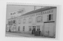 GOUVIEUX CENTRE VILLE MEUNERIE GRAINETERIE FOURRAGES MOREAU Carte Photo - Gouvieux