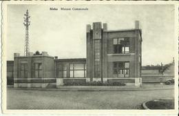 Moha -- Maison Communale.   (2 Scans) - Wanze