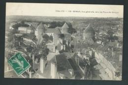 Sémur Vue Générale Vers Les Tours Du Donjon     -  Mbd58 - Semur