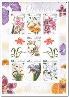 Afghanistan 2003, Postfris MNH, Flowers, Orchids - Afghanistan