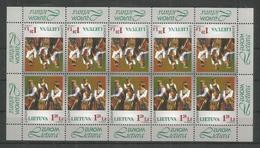 LITHUANIA - MNH - Europa-CEPT - Cultures - 1998 - Europa-CEPT