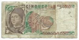 Billet, Italie, 5000 Lire, 1982 - [ 2] 1946-… : Repubblica