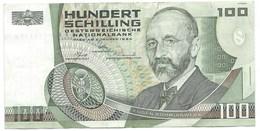 BILLET / AUSTRIA 1984. EUGEN BÖHM-BAWERK 100 SCHILLING EBC - Autriche