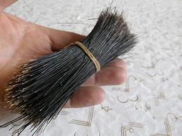 Une Poignée, Ancien Poils De Sanglier Noir, 7 à 14 Cm, Bourgogne, Années 60s...! - Loisirs Créatifs