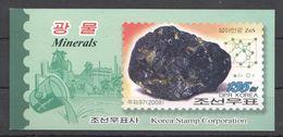 North Korea, 2008. [08-2] Minerals (booklet) - Minerals