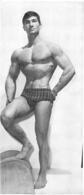 PHOTO HOMME  CULTURISME CULTURISTE FORMAT  27 X 12 CM - Sport