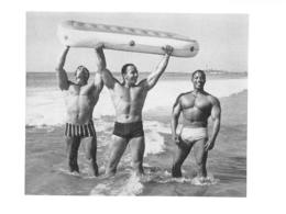 PHOTO HOMMES  CULTURISME CULTURISTE FORMAT  10.50 X 8 CM - Sports