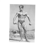 PHOTO HOMME  CULTURISME CULTURISTE FORMAT  14.50 X 13.50 CM - Sports