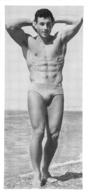 PHOTO HOMME  CULTURISME CULTURISTE FORMAT  15 X 7 CM - Sports