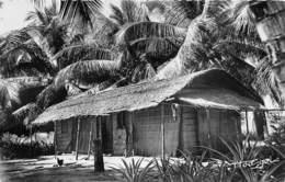 Republique Du GABON Case Indigene 7(scan Recto-verso) MA212 - Gabon