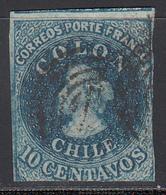 1856-66  Yvert Nº 6 - Chile