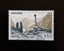 N° 160       La Croix Gothique De Meritxell - Andorre Français