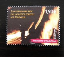 La Fête Du Feu 2018 - Used Stamps