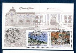 France 2019.Bloc France-Maroc.Cachet Rond Gomme D'origine. - Sheetlets
