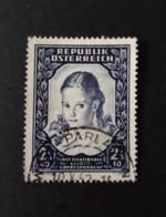 N° 817       Jeune Fille 1952 - 1945-60 Oblitérés