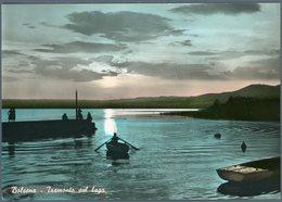 °°° Cartolina N. 152 Bolsena Tramonto Sul Lago Nuova °°° - Viterbo