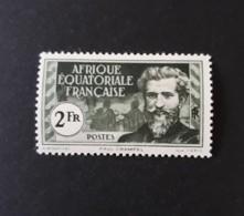 N° 57       2 F  Noir Et Vert  -  Paul Crampel  -  Neuf Sans Charnière - Unused Stamps