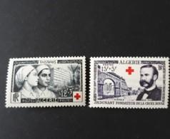 N° 316 Et 317       Croix-rouge  -  Infirmières - Henri Dunant  -  Neuf Sans Charnière - Neufs