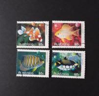 N° 3273 à 3276       Poissons Des Récifs De Corails - 2010-... Elizabeth II