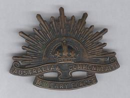 Insigne De Béret Australian Military Forces - Médailles & Décorations