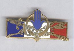 Badge Maintien De L'Ordre En AFN - 2,5 X 5 Cm - Drago Paris - France