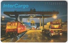 GERMANY K-Serie A-545 - 668 01.92 - Traffic, Train, Truck - MINT - K-Series : Serie Clientes