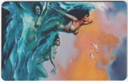 GERMANY K-Serie A-557 - 119 04.93 - Painting, Phantasy - MINT - Allemagne