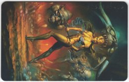 GERMANY K-Serie A-558 - 121 04.93 - Painting, Phantasy - MINT - Allemagne