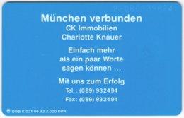 GERMANY K-Serie A-574 - 021 06.92 - MINT - Deutschland