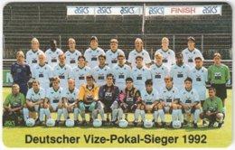 GERMANY K-Serie A-587 - 449 11.92 - Sport, Soccer, Borussia Mönchengladbach - MINT - Deutschland