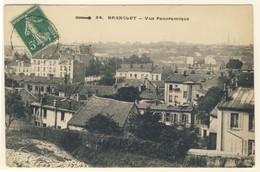 CPA. BAGNOLET - Vue Panoramique (prise De La Montée Aux Malassis En Direction De La Mairie) - Bagnolet