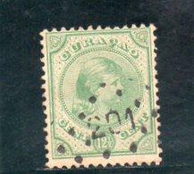 CURACAO 1892 O - Curaçao, Antilles Neérlandaises, Aruba