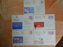 Lot De 5 Entiers Postaux Publibel   (Z7) - Postwaardestukken