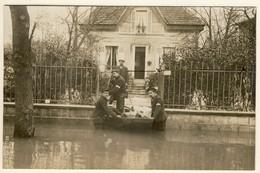 Carte PHOTO. BRY-Sur-MARNE. Inondations De 1910 - Bry Sur Marne